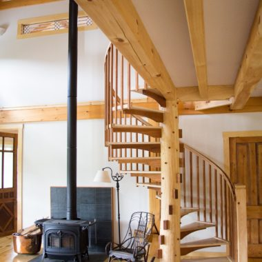 Bethel Spiral Staircase
