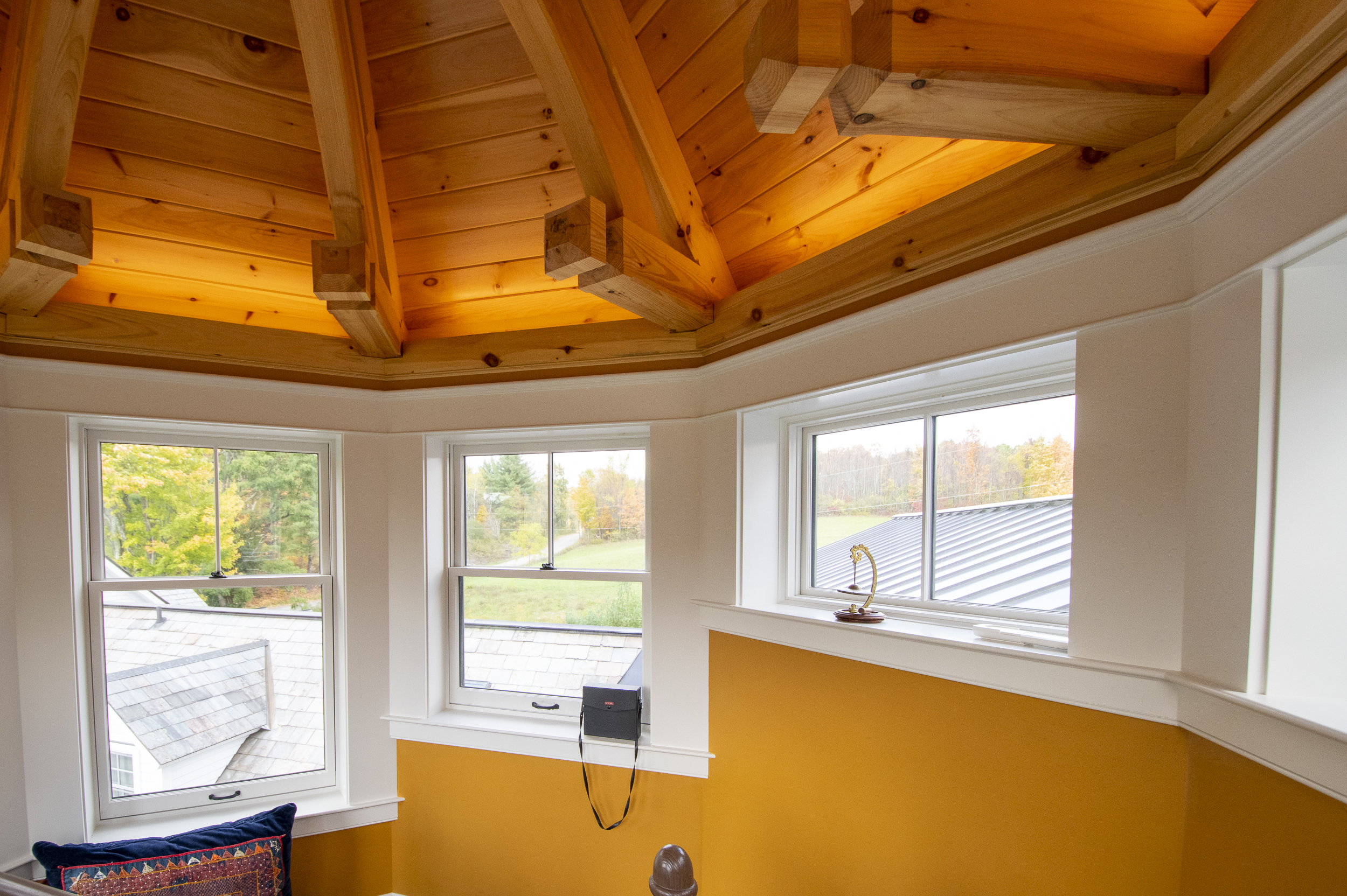timber frame arch brace post and beam dream home